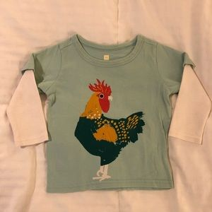 Tea Collection Rooster Graphic Tee